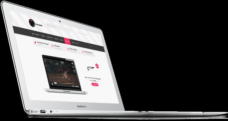 MacBook Mockup E-Commerce Store Demo