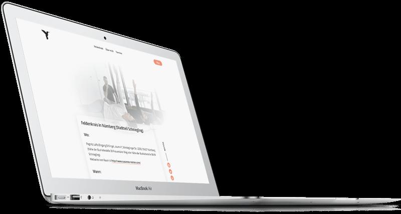 Christian Rabhansl Webseite in Imac